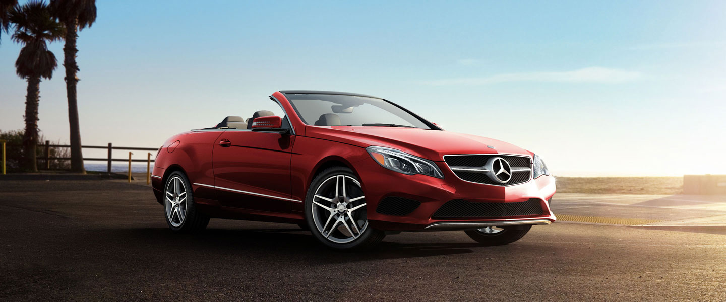 Rent Mercedes E cabriolet