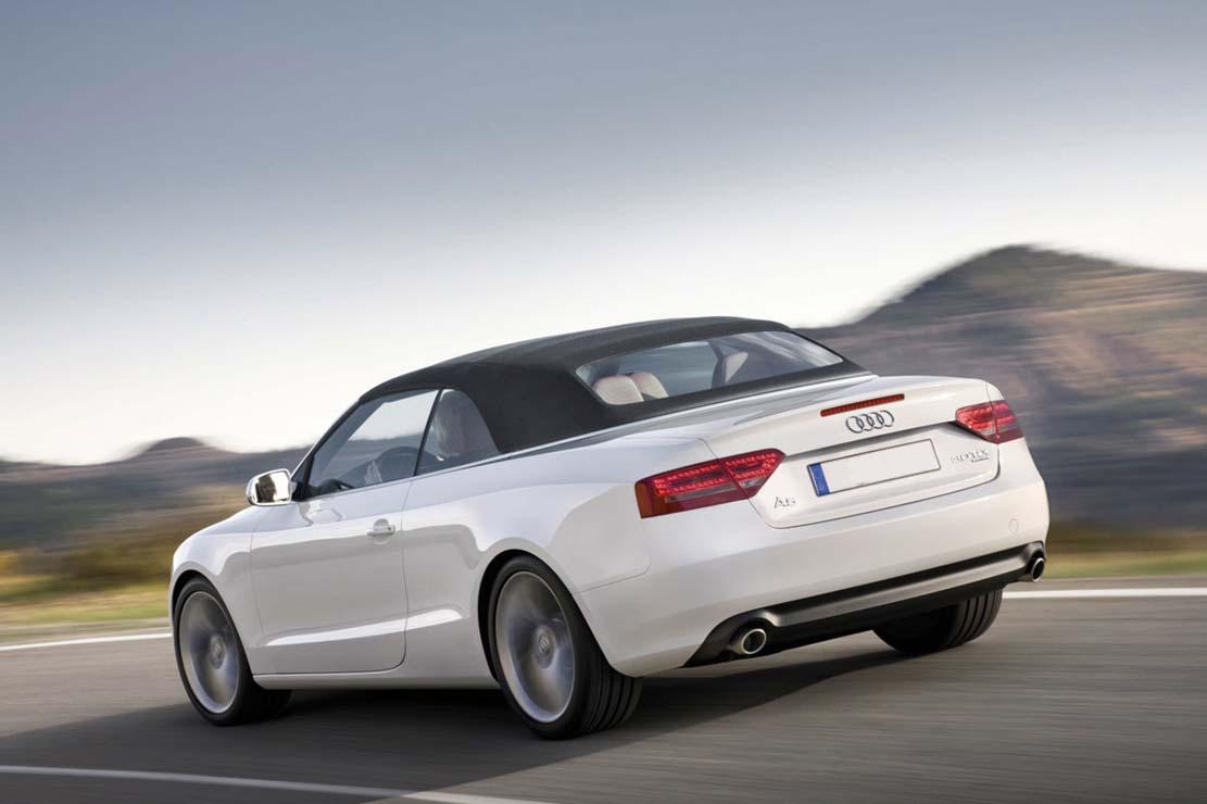 Rent Audi A5 cabriolet
