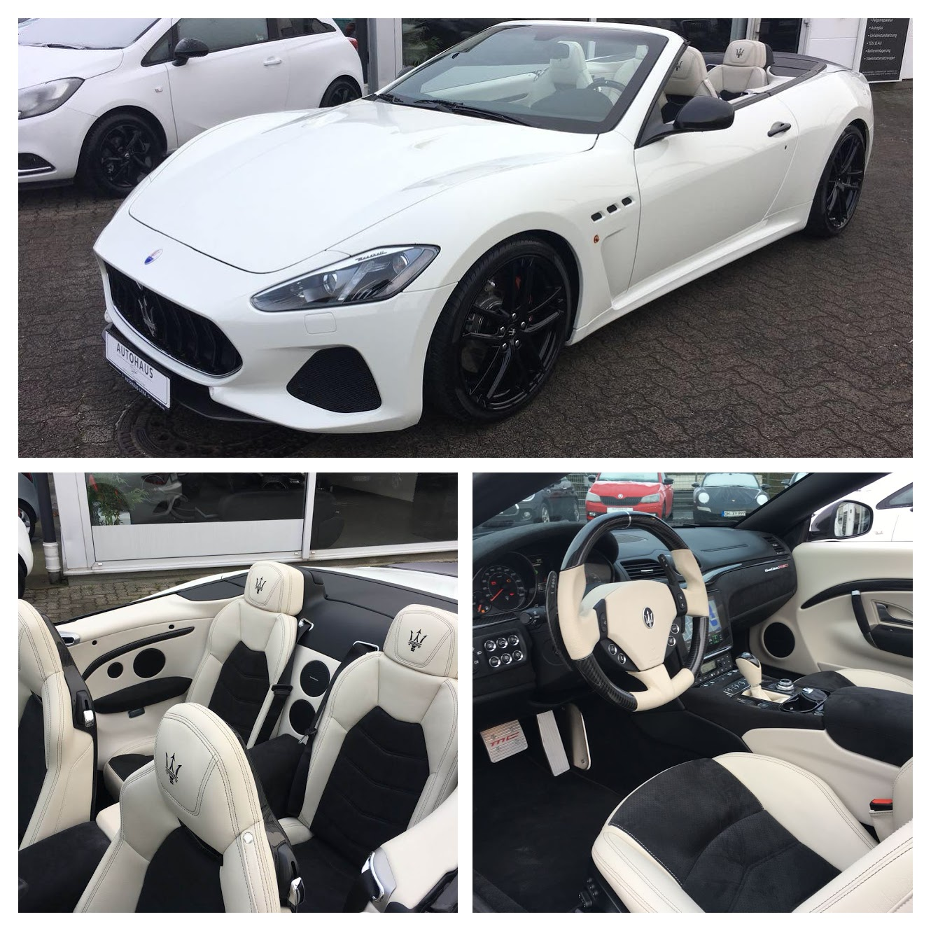 Rent Maserati GranCabrio MC