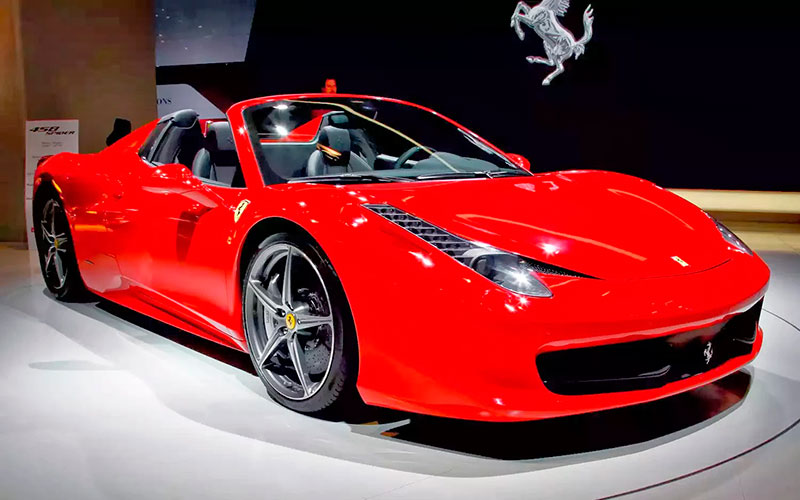 Location Ferrari 458 Spider