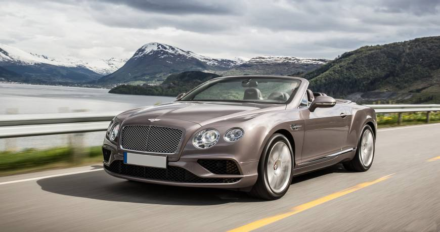 Rent Bentley GTC