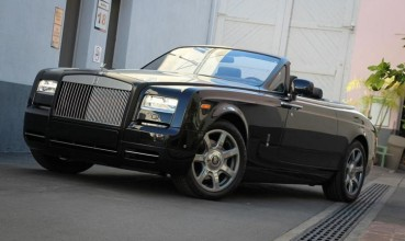Location Rolls Royce Drophead cabriolet
