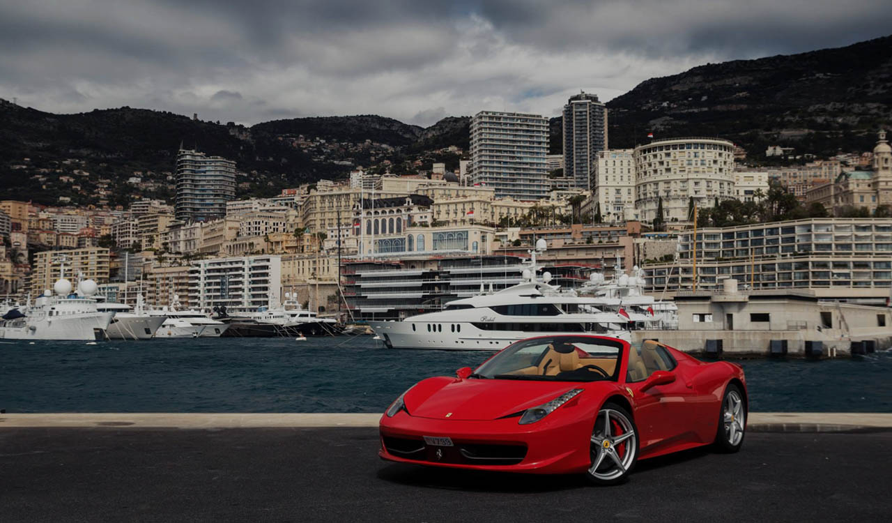 Rent Luxury Cars In Cannes Monaco Nice France Europe