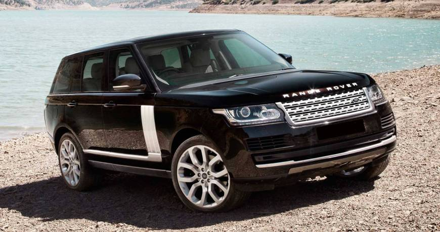 Location Range Rover Vogue