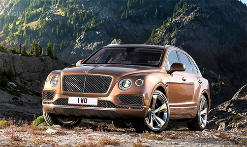 Rent Bentley Bentayga